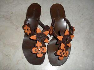 Pelle 35 In 5 N Miu Con By Applicazioni Scarpe Sandalo Prada waqB8p