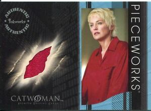Details About Catwoman The Movie Sharon Stone As Laurel Hedare Piecework Card Pw6
