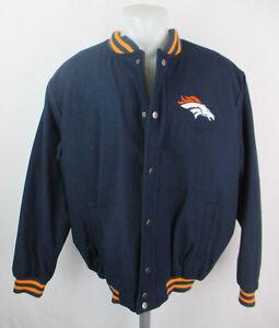 Details about Denver Broncos NFL Men's Embroidered Varsity Style Jacket