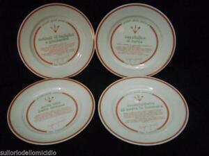 Conjunto-de-quattro-piatti-en-ceramica-con-recetas-de-ugo-talbot