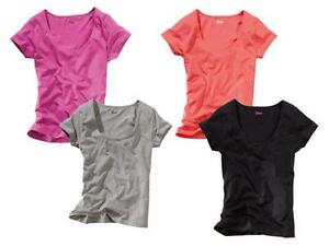 3ccba8a1933f58 Das Bild wird geladen CRIVIT-Damen-T-Shirt-Shirt-NEU-pink-koralle-