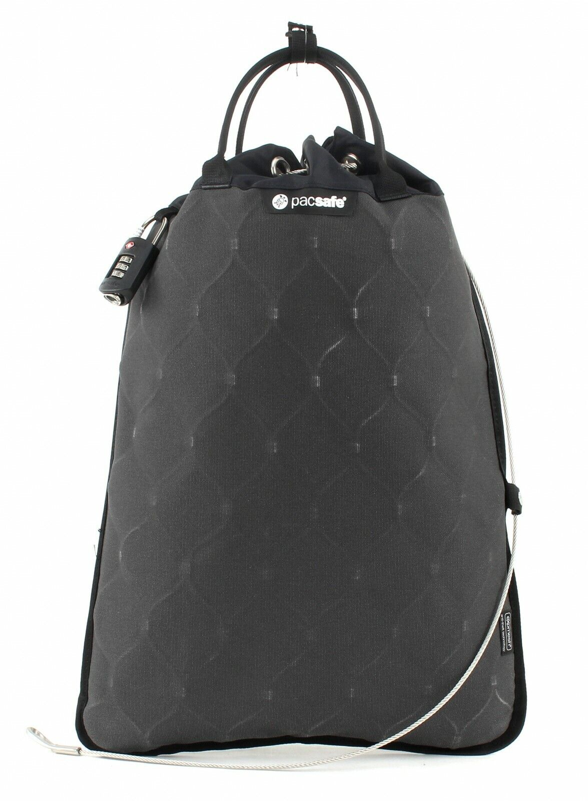 Pacsafe Borsa Da Viaggio Travelsafe 12L GII Portable Safe Charcoal
