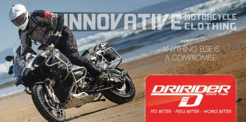 5XL Dririder Thunderwear 2 Rainwear Over Jacket Waterproof Motorbike