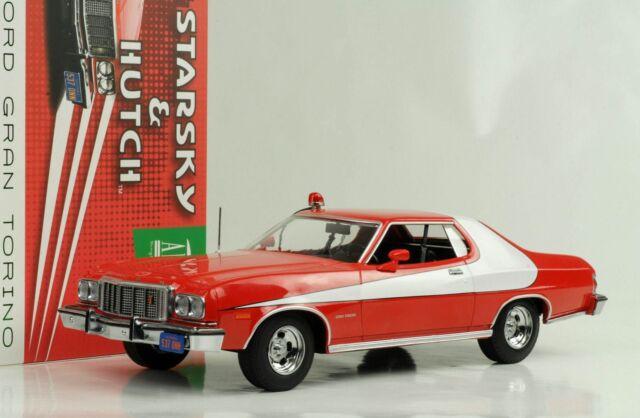 Ford Grand Torino 1976 Starsky & Hutch Movie Artisan 1:18 Greenlight