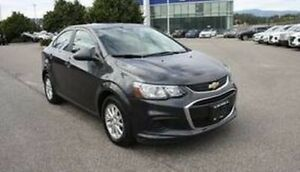 2018 Chevrolet Sonic LT Heated seats, Bluetooth, Backup camera.