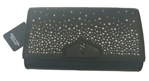 Simply Vera Wang Women's Envelope Clutch Clustered Studs 010521A1