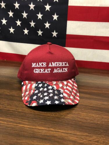 Fourth Of July Make America Great Again USA Flag Hat 5 Panel Snapback USA Trump