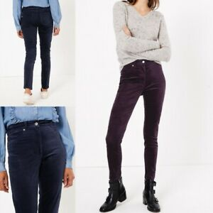 NEW RRP £250 Ex Reiss Navy Embellished Beaded Trousers