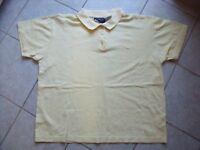 TB0272 Liz Claiborne Damen Polo-Shirt ShirtKurzarm Pastellgelb Gelb Gr. L 42 TOP