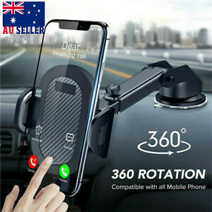 360° Car Suction Cup Universal Mobile Phone Holder Stand Windscreen Mount