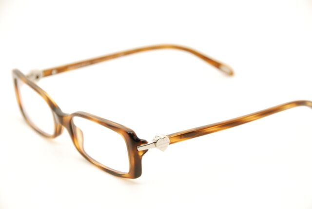 Authentic Tiffany & Co. Tf2035 8107 Havana 50mm Frames Eyeglasses ...