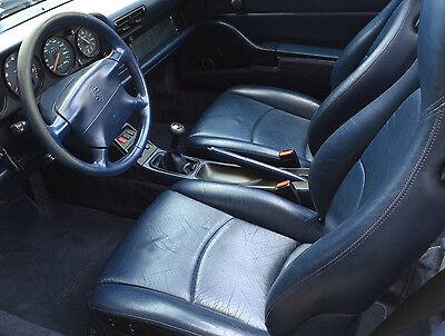 Kit Rinnova Colore NERO Spallina Pelle Porsche 911 928 Ritocco SC Cabrio Sedile
