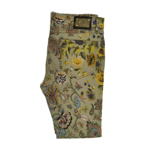 Etro Womens Floral Printed Jeans Pants Size 29