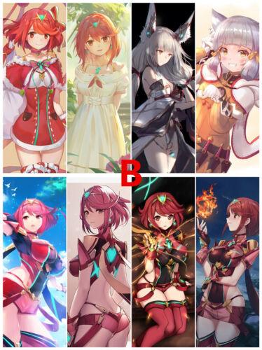 8pcs//set PVC Bookmarks of Xenoblade Chronicles 2 Book Mark