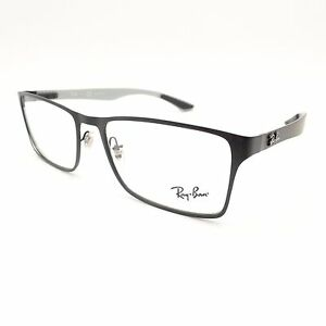 60cb5a18f6 Ray Ban 8415 2503 Matte Black Carbon 53mm New Eyeglass Frame ...