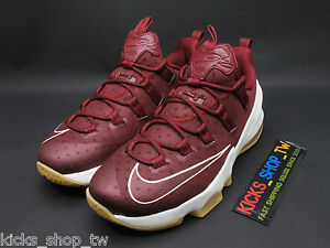 3e2eb900f90b DS 2016 NIKE LEBRON 13 XIII LOW EP TEAM RED SAIL 831926-610 JAMES ...
