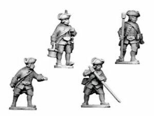 Seven-Years-Guerra-gt-Austrians-SYA041-Austrian-Artillery-Crew-4-Figures