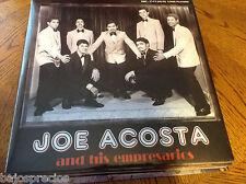 RARE salsa LP Joe Acosta & his empresarios MAMBO POTENTE quiero conocerte HONKA-