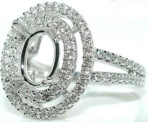 75-CT-OVAL-DOUBLE-HALO-DIAMOND-Mounting-RING-Setting