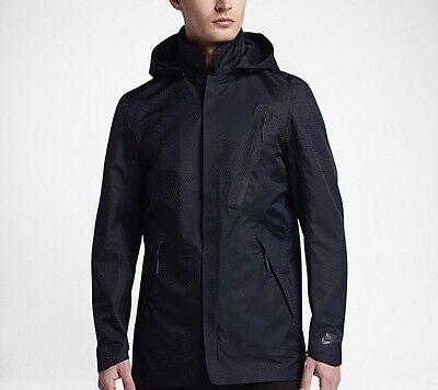Nike Waterproof Bonded Blazer Jacket Black Tech Pack 836411-010 $300 Mens M L XL