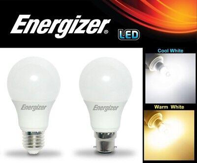 40w//60w//100w BC B22 Energizer Dimmable LED GLS Light Bulbs Bayonet 6w 9w 12w