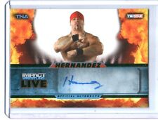 TNA Hernandez L46 2013 Impact Wrestling LIVE GREEN Autograph Card SN 23 of 50