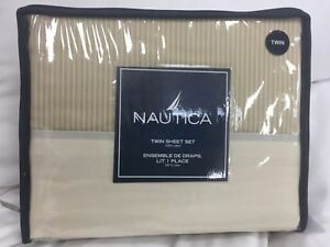 Nautica-Oslo-Ivory-Sheet-Set-Twin-Ivory-and-Tan