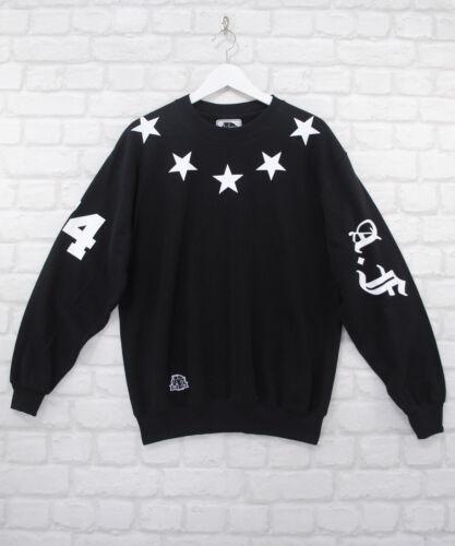Actual Fact Stars Kanye Jay-Z Trill Crew Men/'s Black Hip Hop Rapper Sweatshirt