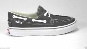 84ae73e03ff Image is loading VANS-Zapato-Del-Barco-Pewter-Boat-Shoes-VN-