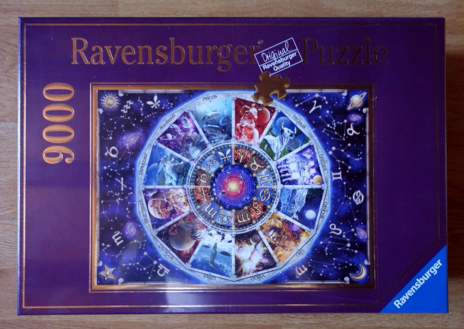 Ravensburger 9000 piece puzzle, 'Astrology' - Factory sealed