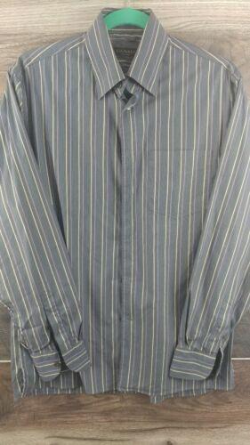 Canali Italian Men's Long Sleeve Casual/Dress Shir