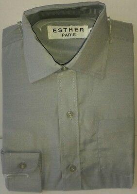 elegant /& festliche Kinderhemd//Hellblau//Hochzeit//Kommunion//Freizeithemd