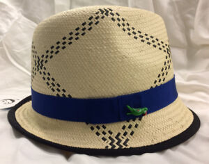 ed17beb24 Details about Eugenia Kim for Target Fedora Hat with Parrot in Tan/Natural  NWT