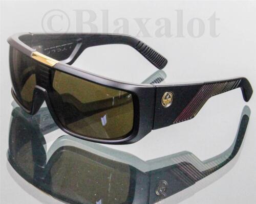 NEW DRAGON ORBIT SUNGLASSES Black//Rasta frame//Bronze lens 720-2044 Made in Italy