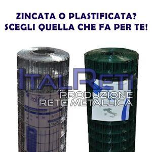 25MT-Rete-per-Recinzione-50x75-ZINCATA-Filo-Zincato-mm-1-80-PLASTIFICATA-mm2-4