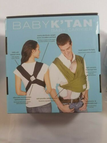 Baby K/'tan ORIGINAL,BREEZE,ACTIVE Baby Carrier Black,Teal,Charcoal XXS,S,M,L,XL