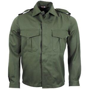 Nuevo-genuino-OTAN-Ejercito-Oliva-campo-belga-Camiseta-Talla-34