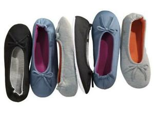 Details zu ESMARA® Damen Ballerinas Hausballerinas Ballerina Hausschuhe Schuhe viele Farben