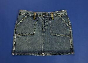 Dolce-gabbana-dg-size-w28-tg-42-gonna-jeans-usato-vita-alta-hot-mom-sexy-denim