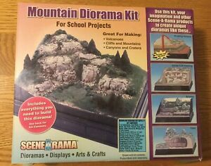 Details about Mountain Diorama Kit SP4111 Woodland scenics, volcano,  mountains, trains