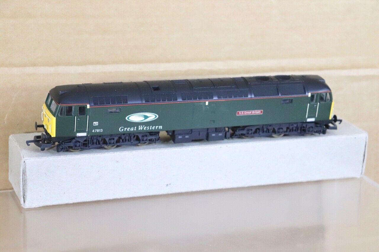 Lima Re Bemalt Groß Western Klasse 47 Diesel Lokomotive 47813 Ss Großbritannien