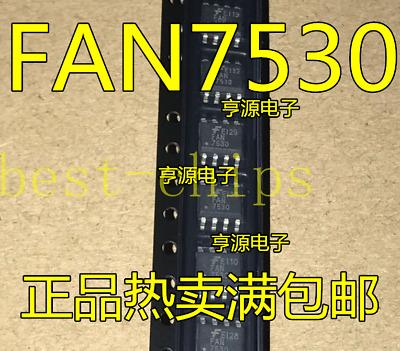 10PCS FAN7530MX FAN7530 IC PFC CTRLR CRM//TRANSITION 8SOP IC New Best Price Quali