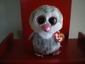 """Claire/'s Exclusive Ty 6 /"""" Beanie Boos OLIVE the Penguin NEW with MINT TAGS"""