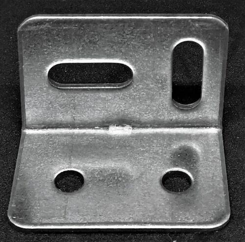 10x METAL L STRETCHER CORNER BRACKET 38mm x 25mm Angle Brace Support Repair