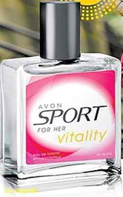 (17,98€/100ml) AVON Sport Vitality EDT Spray 50 ml