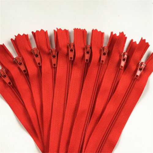 Crafter/'s 30cm 50//100pcs Nylon Coil Zippers Tailor Sewer Craft 12 Inch