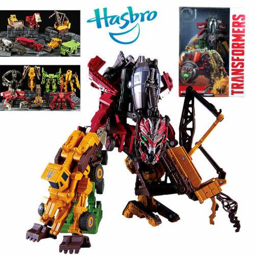 HASBRO TRANSFORMERS DEVASTATOR COMBINE 7 ROBOT TRUCK CAR ACTION FIGURES TOY