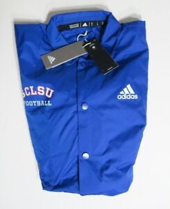 e7998d434 Image is loading Adidas-Waterboy-Football-Coaches-Jacket-SCLSU-Blue-DY4641-