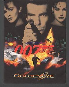 JAMES-BOND-GOLDENEYE-RARE-1995-RADIO-CITY-MUSIC-HALL-WORLD-PREMIERE-PROGRAM