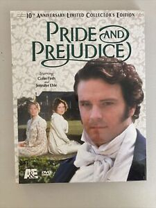 Making of Pride & Prejudice 10th Anniversary Limited Edition DVDs/Book– 1995